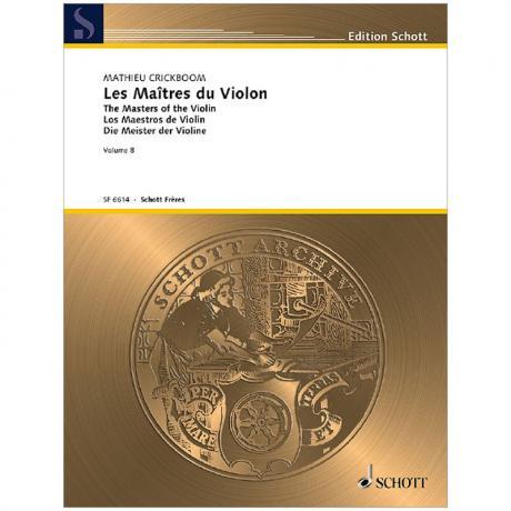 Crickboom, M.: Les Maîtres du Violon Vol. 8