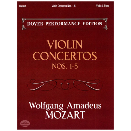 Mozart, W. A.: Violinkonzerte Nr. 1-5