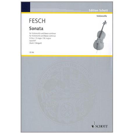 Fesch, W. d.: Sonata Op. 8/1 D-Dur