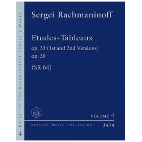 Rachmaninow, S.: Études – Tableaux Op. 33, Op. 39 SR 64