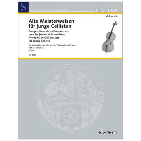 Alte Meisterweisen für junge Cellisten Band 2