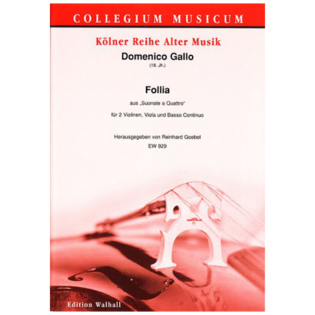 Gallo, D.: Follia – aus »Suonata a Quattro«