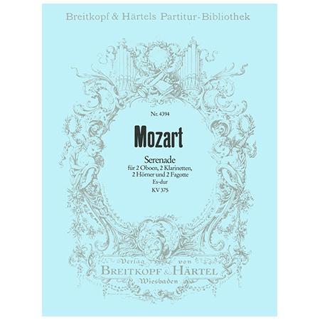Mozart, W. A.: Serenade Es-Dur KV 375