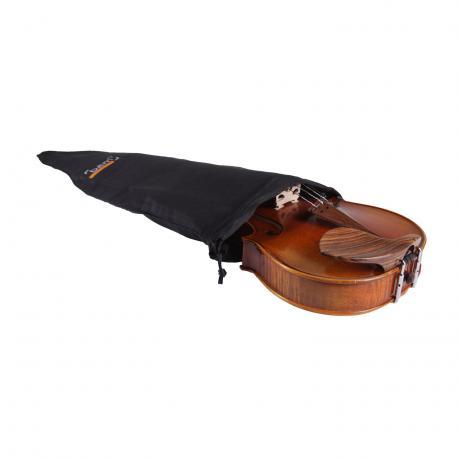 BAM Single Layer Seidenhülle schwarz | Violine