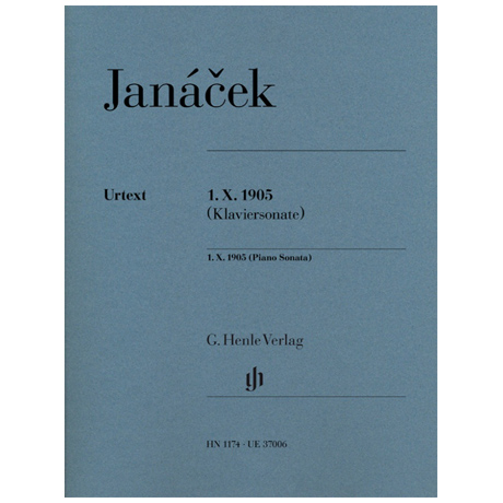 Janácek, L.: 1. X. 1905 (Klaviersonate)