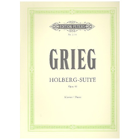 Grieg, E.: Holberg-Suite Op. 40