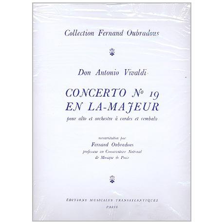 Vivaldi, A.: Violakonzert A-Dur Nr. 19