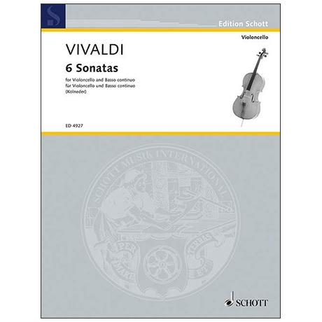 Vivaldi, Antonio: 6 Sonaten