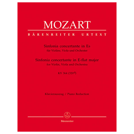 Mozart, W.A.: Sinfonia concertante in Es-Dur 364 (320d)