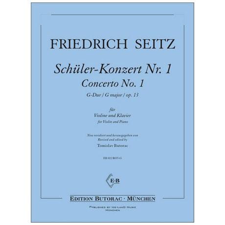 Seitz, F.: Schülerkonzert Nr. 1 in G-Dur op. 13