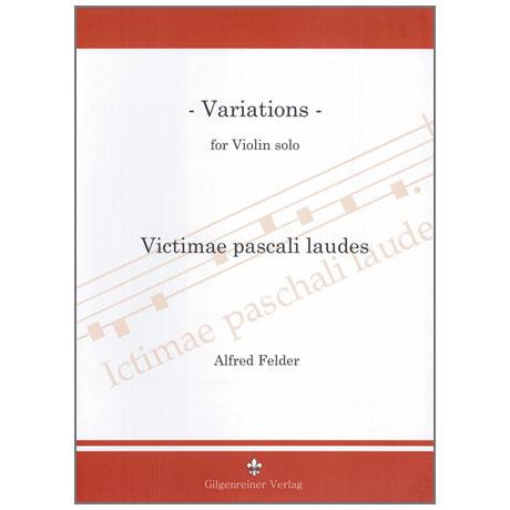 Felder, A.: Variations – Victimae pascali laudes (1987)