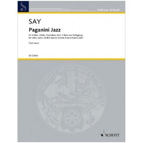 Say, F.: Paganini Jazz Op. 5c a-Moll (1995/2017)