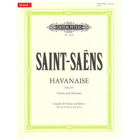 Saint-Saens, C.: Havanaise Op.83 Urtext