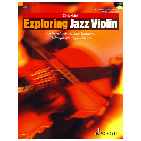 Haigh, C.: Exploring Jazz Violin (+CD)
