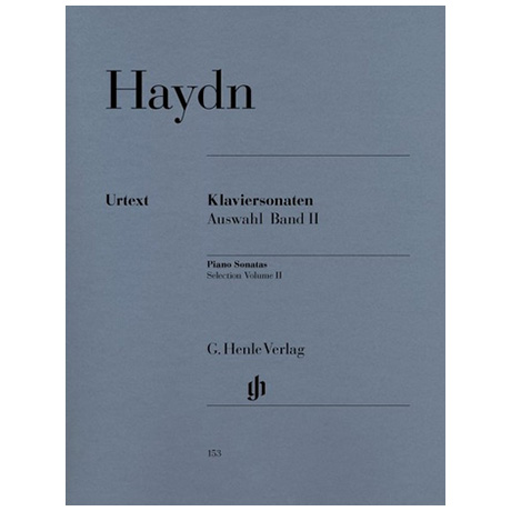 Haydn, J.: Klaviersonaten Auswahl Band II