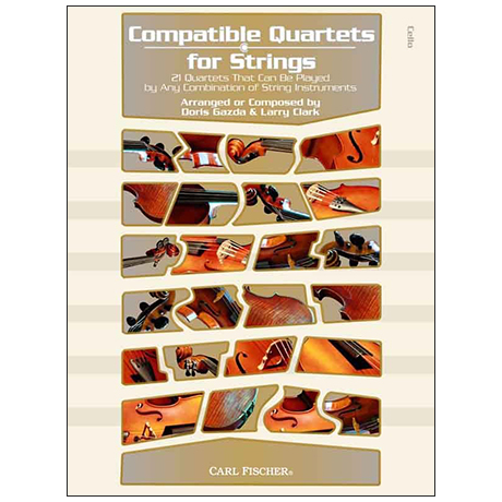 Compatible Quartets for Strings – Violoncello