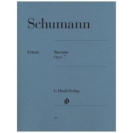 Schumann, R.: Toccata C-Dur Op. 7
