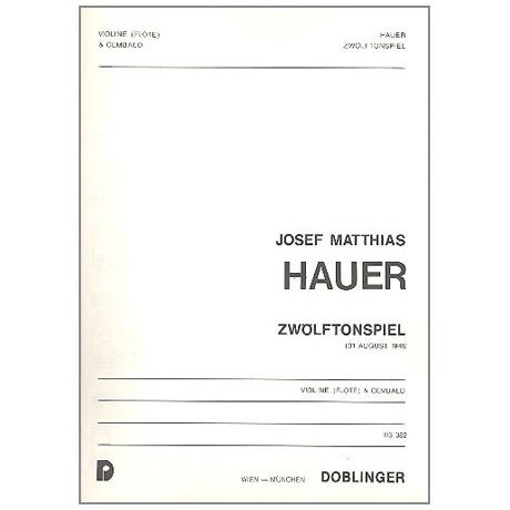Hauer, J.M.: Zwölftonspiel (1948)