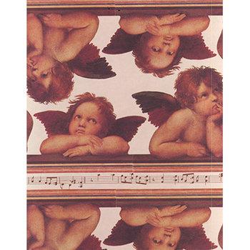 Geschenkpapier Musica Engel