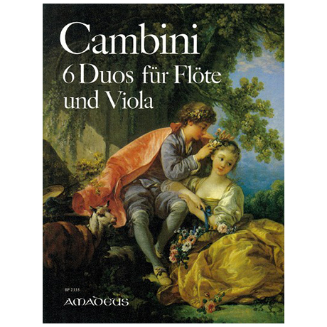 Cambini, G. M. G.: 6 Duos Op. 4