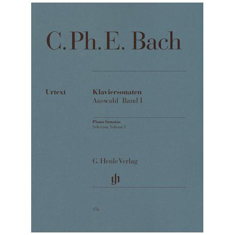 Bach, C. Ph. E.: Klaviersonaten Auswahl Band I