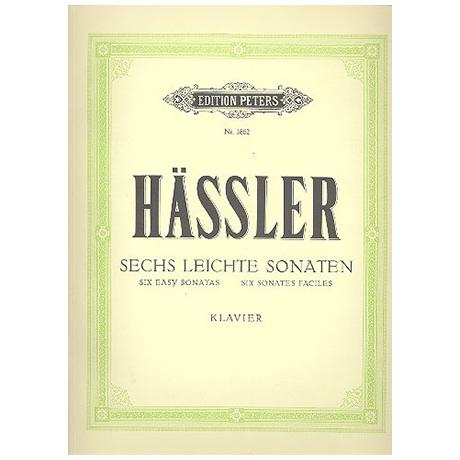 Hässler, J. W.: 6 leichte Sonaten (Doflein)