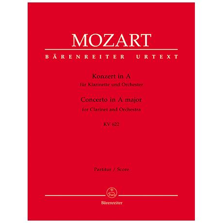 Mozart, W. A.: Klarinettenkonzert KV 622 A-Dur