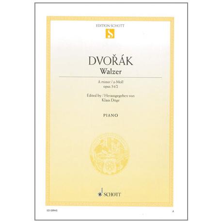 Dvořák, A.: Walzer A-Moll Op. 54 Nr. 2