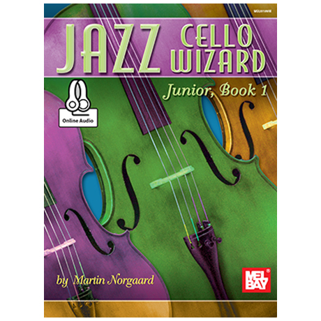 Jazz Cello / Bass Wizard Junior Band 1 (+Online Audio)