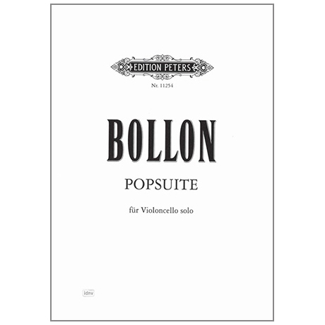 Bollon, F.: Popsuite – Virtuose Etüden für Violoncello solo