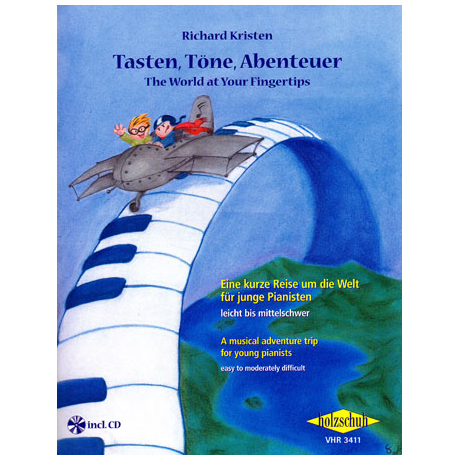 Kristen, R.: Tasten, Töne, Abenteuer (+CD)