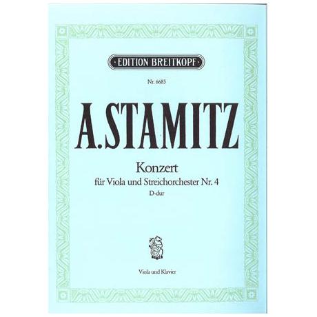 Stamitz, A.: Konzert Nr.4 D-Dur