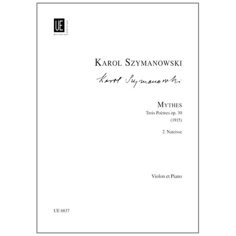 Szymanowski, K.: Mythes Op.30,2: Narcisses