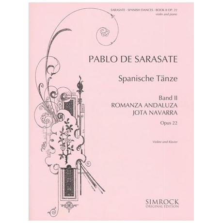 Sarasate, P. d.: Spanische Tänze Band 2