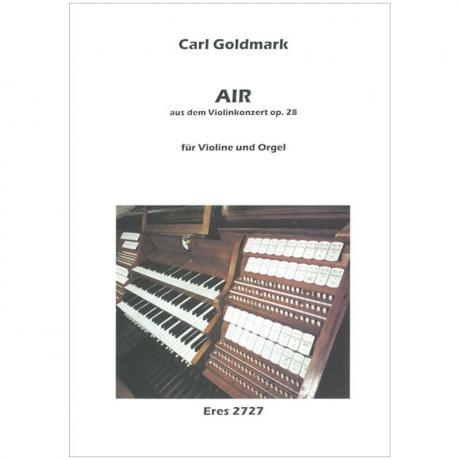 Goldmark, K.: Air aus dem Violinkonzert Op. 28