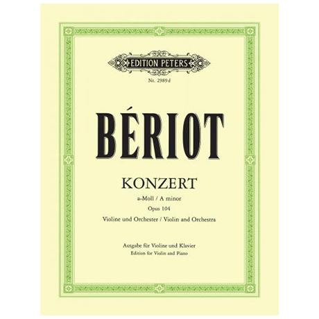 Bériot, Ch. d.: Violinkonzert Nr. 9 Op. 104 a-Moll