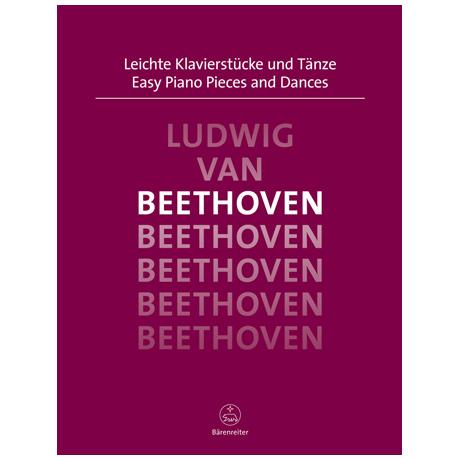 Beethoven, L. v.: Leichte Klavierstücke und Tänze
