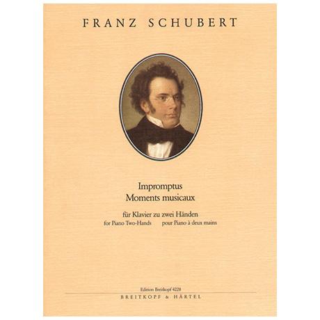 Schubert, F.: Impromptus, Moments musicaux