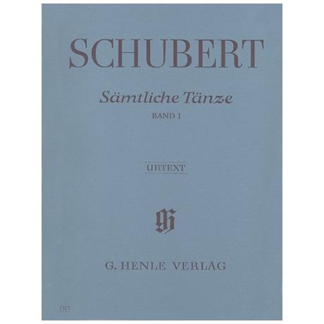 Schubert, F.: Sämtliche Tänze Band I