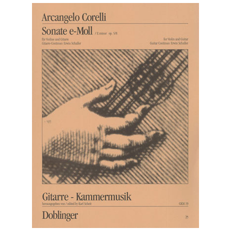 Corelli, A.: Sonata e-moll Op.5 Nr.8