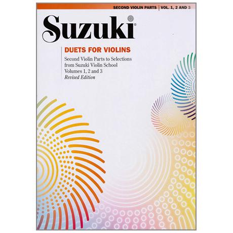 Suzuki Violin School – Duette für zwei Violinen