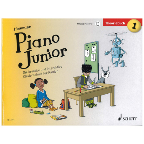 Heumann, H.-G.: Piano Junior – Theoriebuch Band 1 (+Online Material)