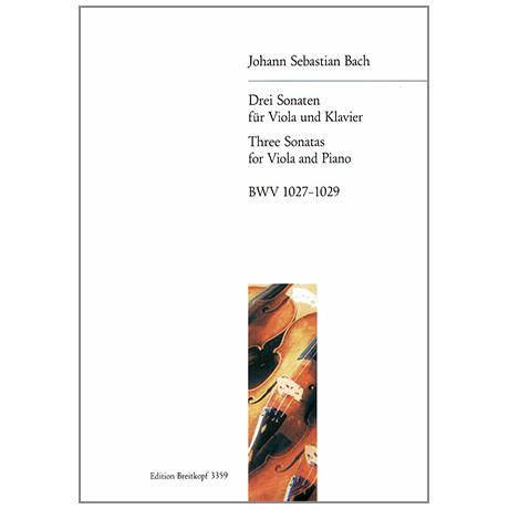 Bach, J. S.: 3 Violasonaten