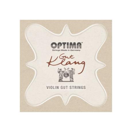 OPTIMA Gut Klang Violinsaiten SATZ