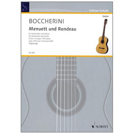 Boccherini, L.: Menuett und Rondeau Op. 13/5 und Op. 28/4