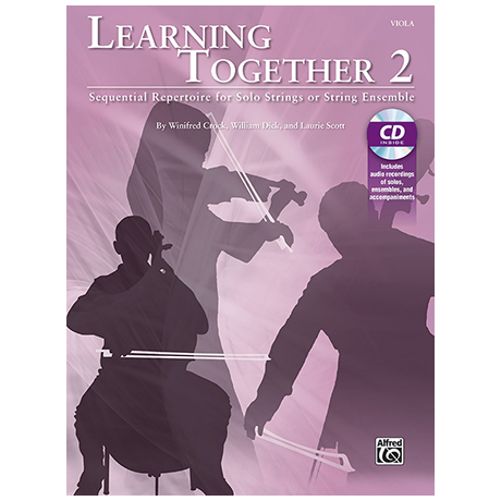 Crock, W./Dick, W./Scott, L.: Learning Together 2 (+CD) – Viola