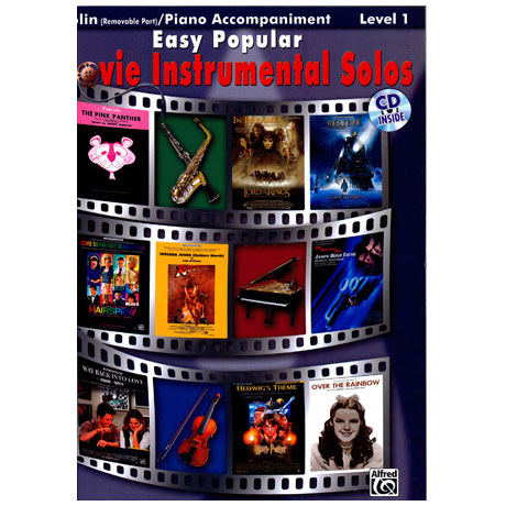 Easy Popular Movie Instrumental Solos (+CD)