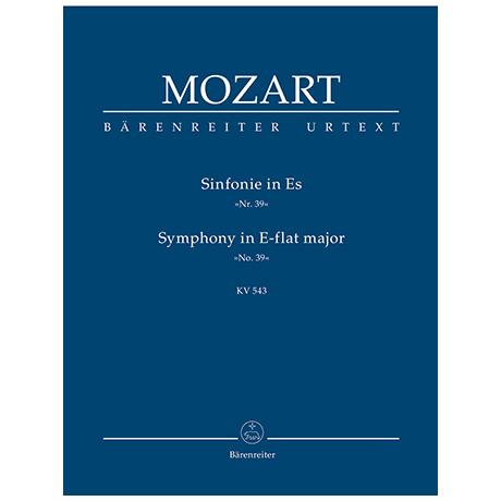 Mozart, W. A.: Sinfonie Nr. 39 Es-Dur KV 543
