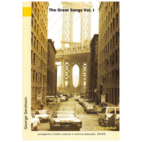 Gershwin, G.: The great Songs Band 1