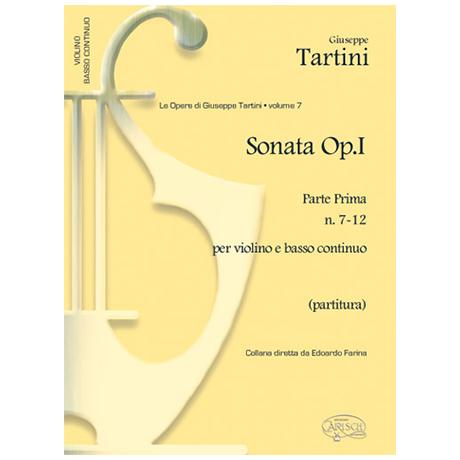 Tartini, G.: Violinsonaten Op. 1 Band 2